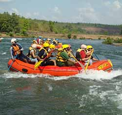 River Rafting in Jim Corbett